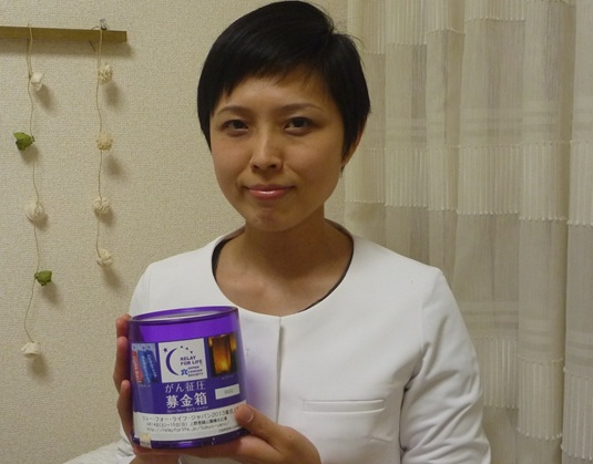 がん研有明病院看護師の佐藤千穂子さん