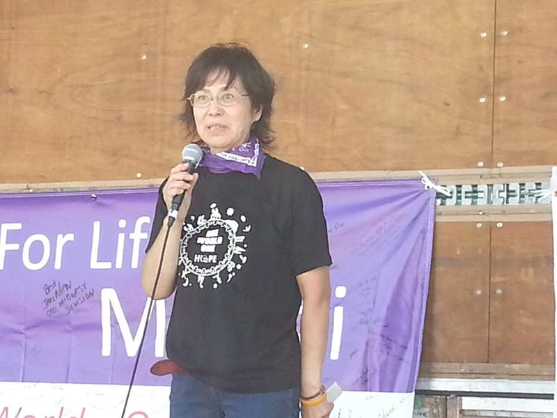 佐藤恵子実行委員長