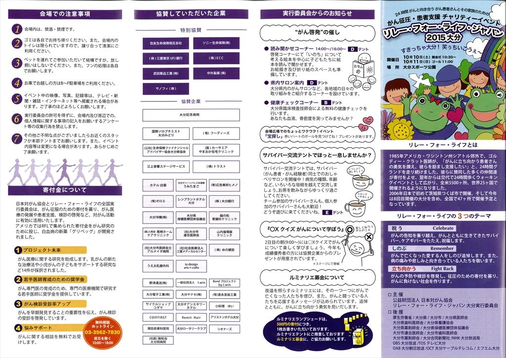 プログラム(表)